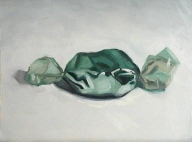 """Vanitas (Felix II) : Oil on wood. 6""""x8"""" 2016"""