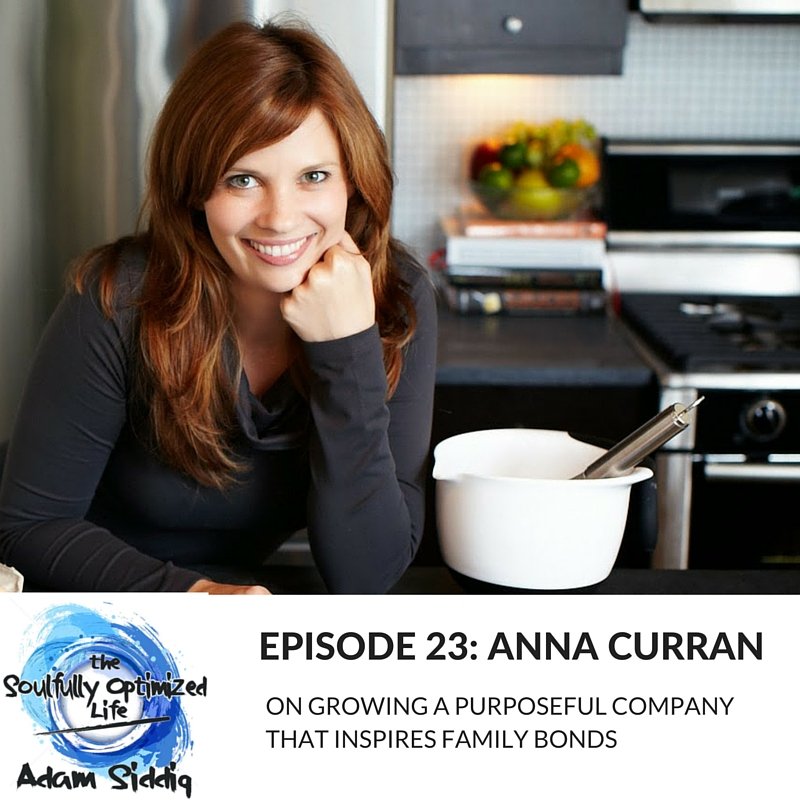 Anna Curran Cookbook Create