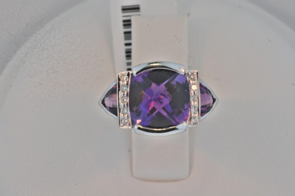 bellari amethyst diamond ring 6013