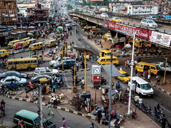 "Wizkid is one of Nigeria's biggest names. His song ""Ojuelegba,"" which he remixed with Drake and Skepta, describes this crowded Lagos neighborhood."