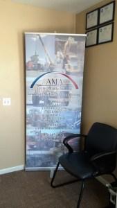 Adams Mobile Air customer waiting area