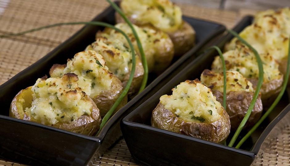 Mini Twice-Baked Potatoes