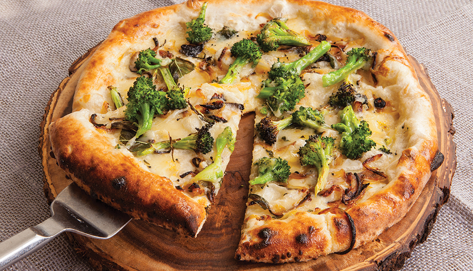 Adams Reserve Broccoli Pizza
