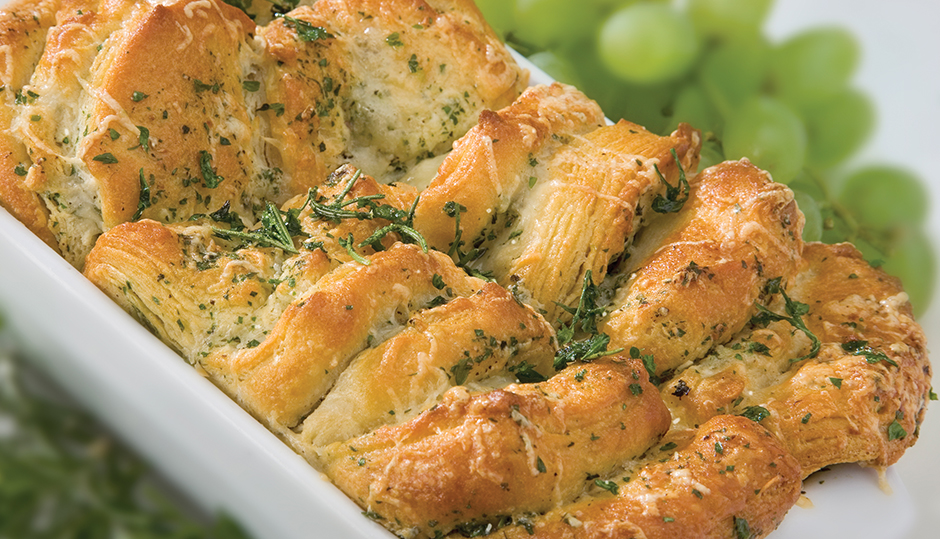 Herb Pull-Apart Bread