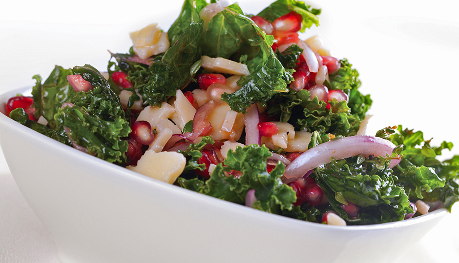 Adams Reserve Kale Pomegranate Salad