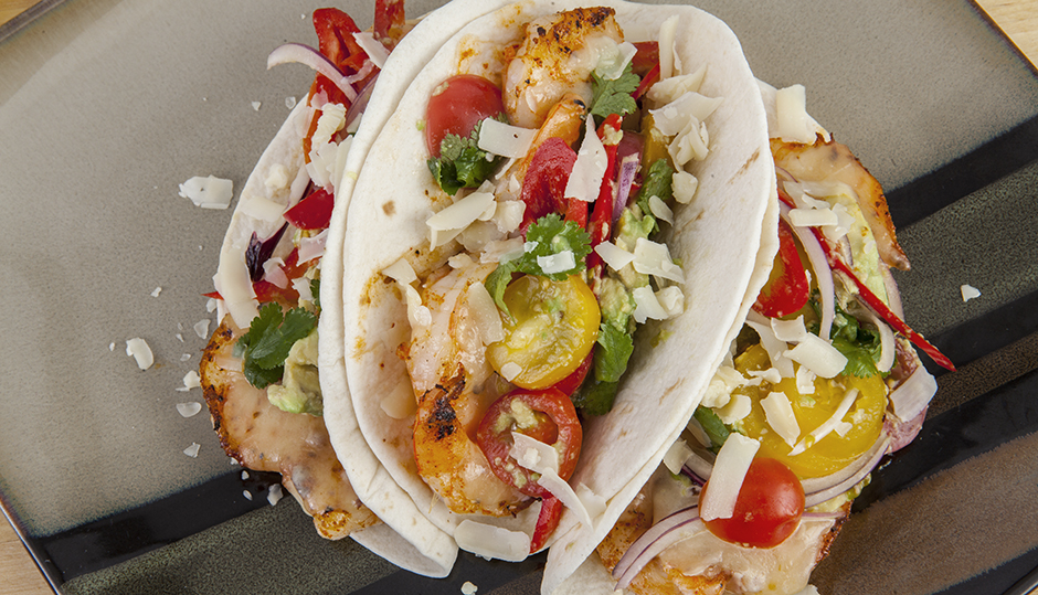 Adams Reserve Shrimp Tacos