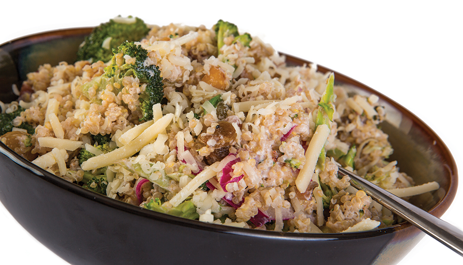 Adams Reserve Cheddar Quinoa Broccoli