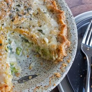 Cheddar, Broccoli & Chicken Pot Pie