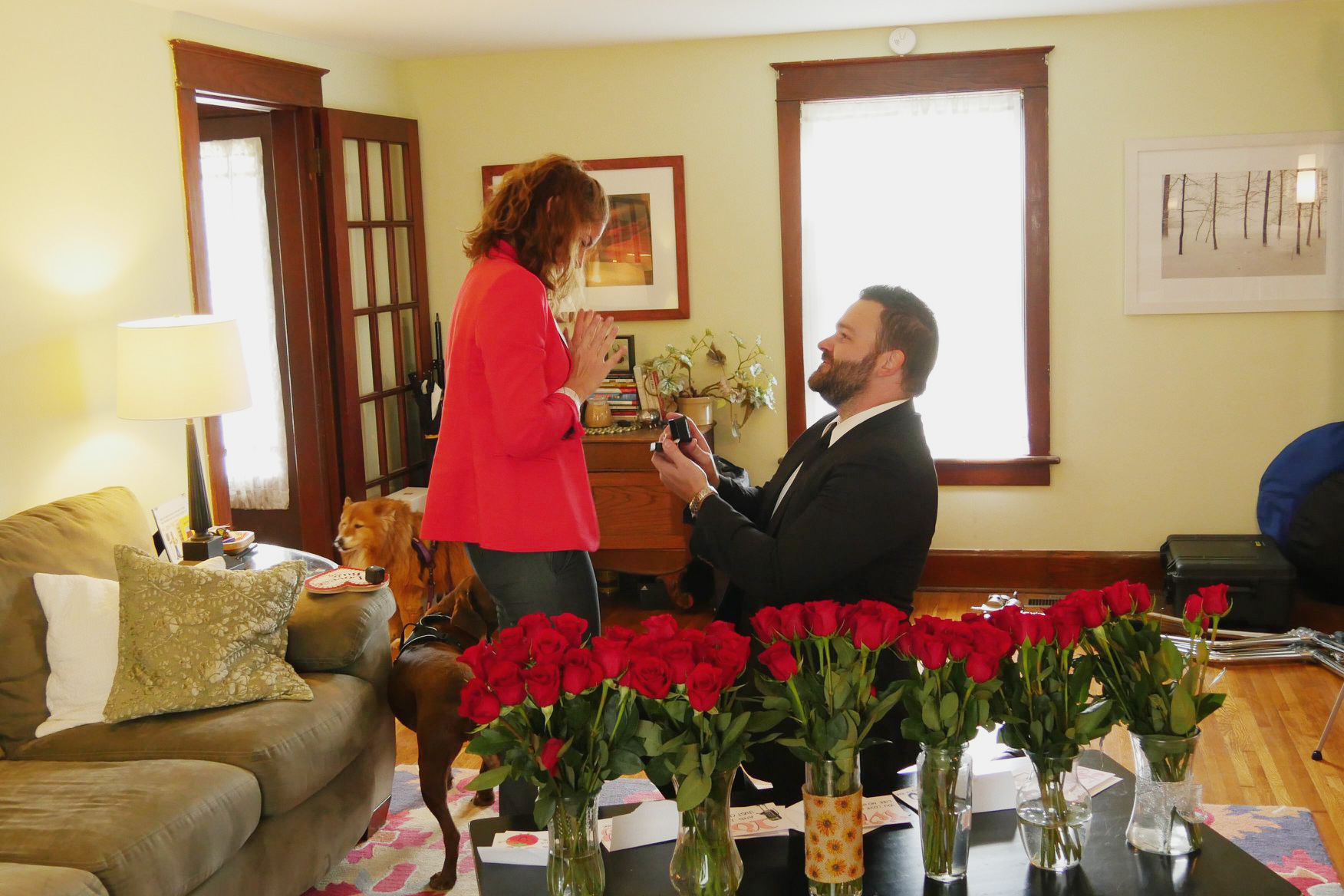 Adam Stultz Proposes to Kelly Heck