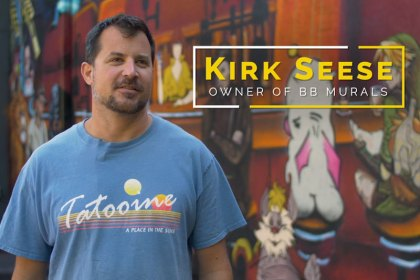 kirk seese owner bb murals brewery fire