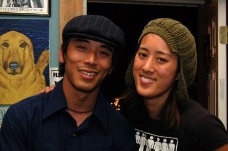 Alex Wong and Vienna Teng at Mississippi Studios in 2007.