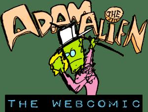 OMG! It's Adam the Alien: DA WEBCOMIC!