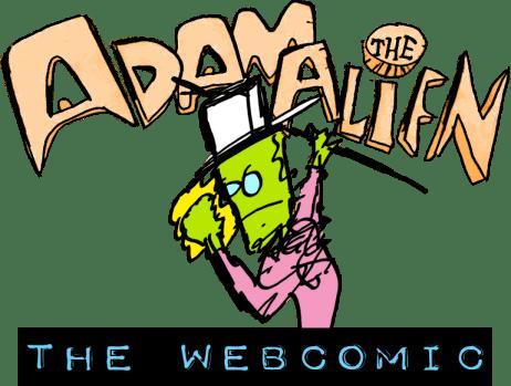 Adam the Alien: DA WEBCOMIC!