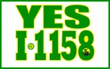 Initiative 1158 promotional image with border.