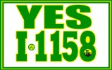 Initiative 1158 promotional image with green-heaviy double border.