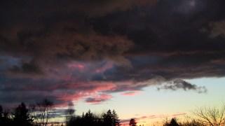 Sunset at Cedar Rock Farm