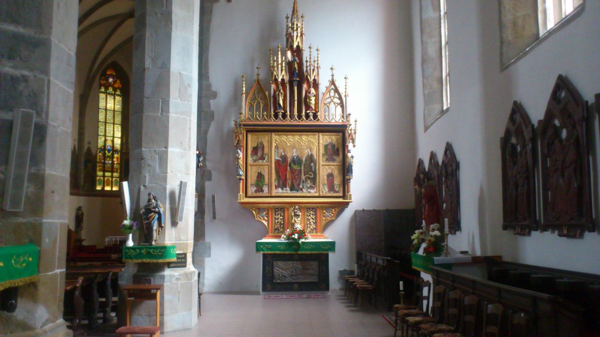 bazilika minor sv. kriza kezmarok renesancna zvonica spis slovensko