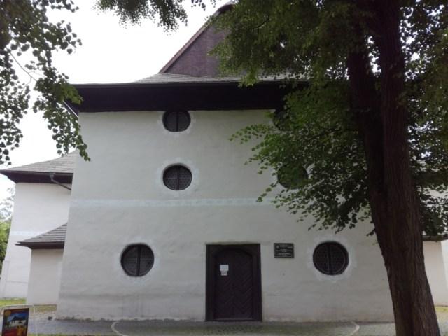 dreveny evanjelicky artikularny kostol unesco kezmarok spis slovensko