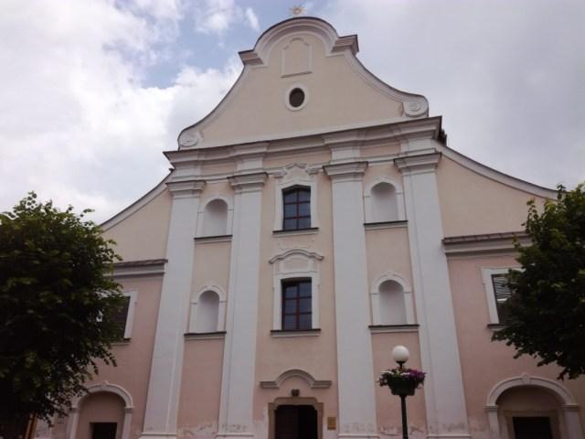 kostol navstivenia panny marie kezmarok pavlinsky kostol spis slovensko