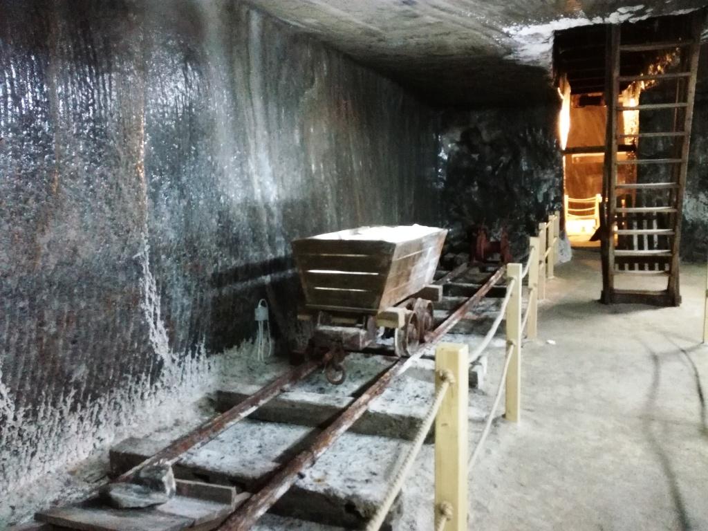 sala putului de extractie salina turda solna bana