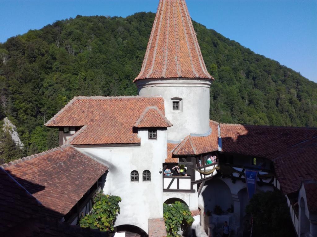 hrad bran rumunsko dracula
