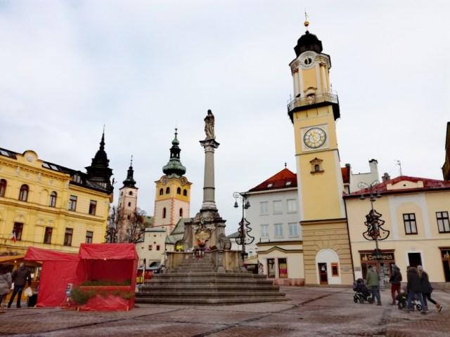 namestie snp banska bystrica pohronie horehronie slovensko