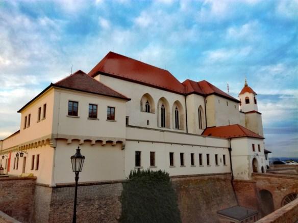 brno jizni morava cesko hrad a pevnost spilberk