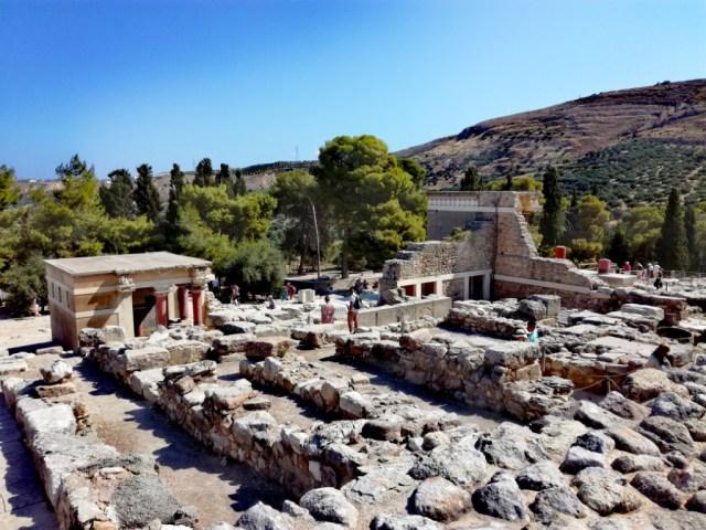 grecko kreta knossos severny vchod