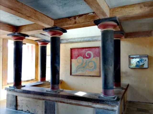 grecko kreta knossos galeria