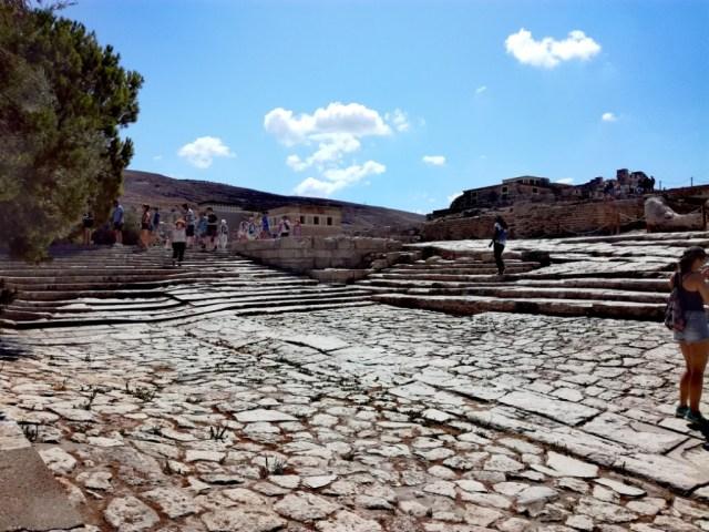 grecko kreta knossos divadlo