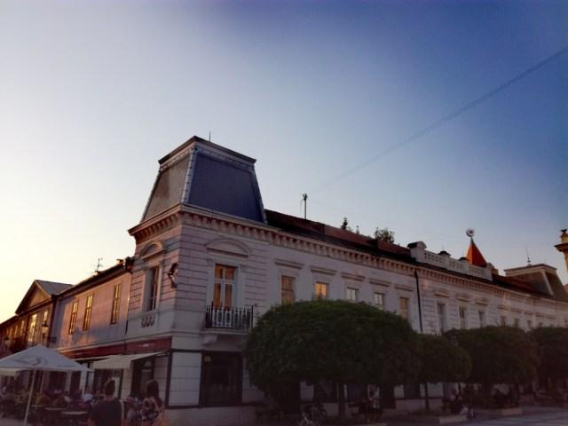 zichyho palac komarno podunajsko nitriansky kraj slovensko