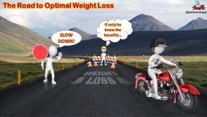 The Optimal Rate of Weight Loss