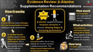 Beta-Alanine: How it Works, Improves Performance, and Evidence-Based Supplementation Recommendations