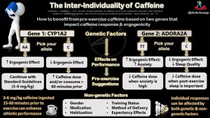 Caffeine and Genes: A Tree Using Your Genes for Individualized Pre-exercise Caffeine Recommendations