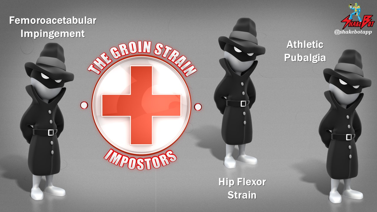 The Hip in Ice Hockey Part 3: The Groin Strain Impostors