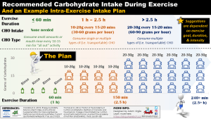 Recommendations for Carbohydrate Intake During Exercise: When, How Much, and What Types