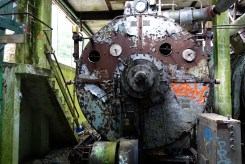 One of the old boilers