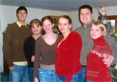 All the grandchildren and Adam's wife Maribeth