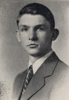 Senior photo, 1945