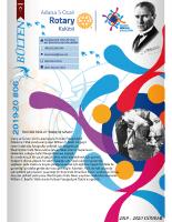 Adana 5 Ocak Rotary Kulübü 2019-20 Bülten – 06