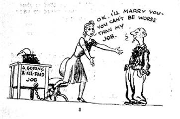 06marriagetoescapejobcartoon1954