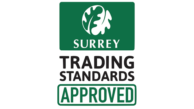 A. Dansie Roofing is registered with Surrey Trading Standards