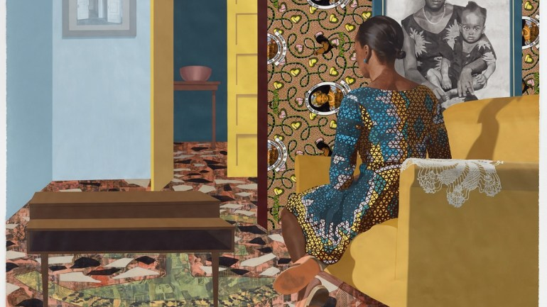 Njideka Akunyili Crosby debuts her First Solo Exhibition in the UK