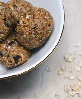 Healthy Oat Energy Balls