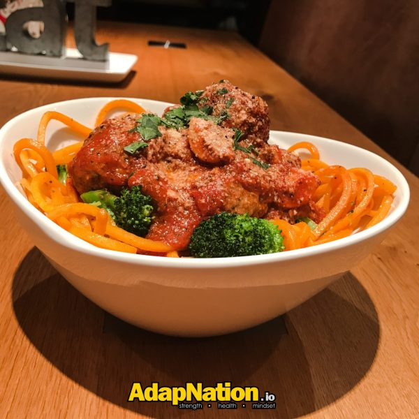 AdapNation - Butternut squash meatballs
