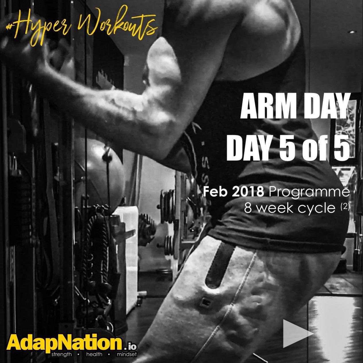 #HyperWorkouts - Arm Day
