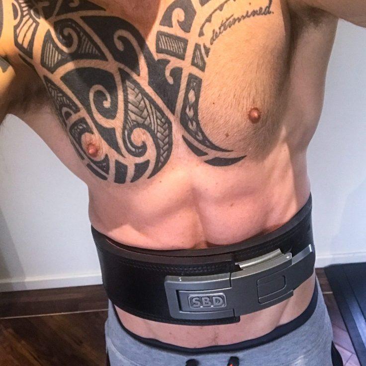 SBD Belt being worn