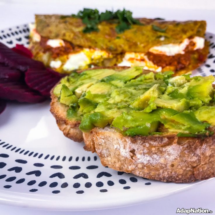 Omelette & Sourdough - Superfood Styleee