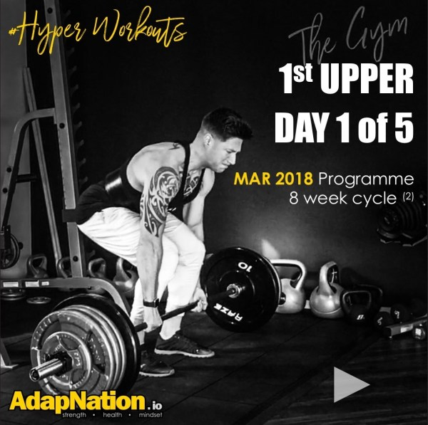 MAR-18 #HyperWorkouts - Day 1 of 5