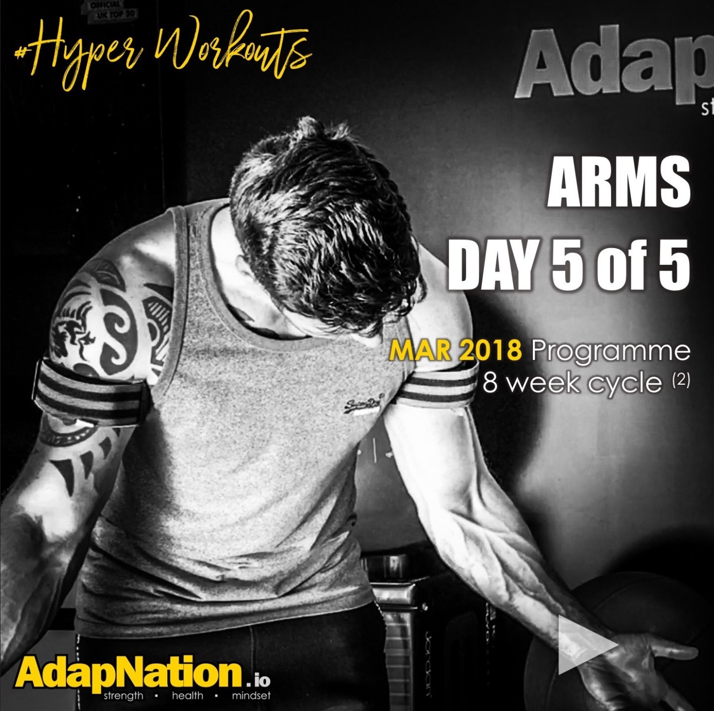 MAR-18 #HyperWorkouts - Day 5/5 - Arms Day